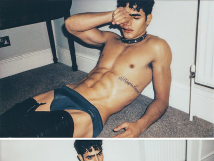 Jhonattan Burjack by Christian Oita for Wonderland magazine